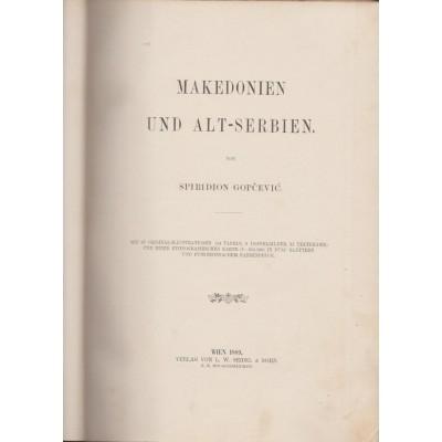 0057.  Spiridion Gopčević: Makedonien und alt-Serbien 1889.