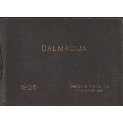 0087. Dalmacija- album, 1926.