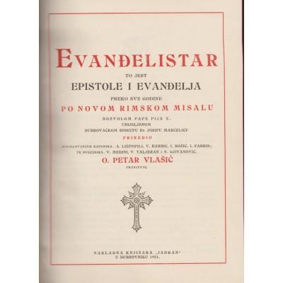 0082.  Petar Vlašić: Evanđelistar  1921.