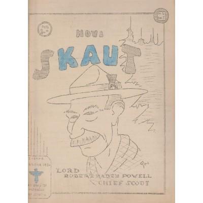 0211.  Novi skaut- časopis, godina I., broj 2 , 1930. Zagreb