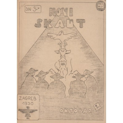 0213.  Novi skaut, year I. number 7, 1930. Zagreb