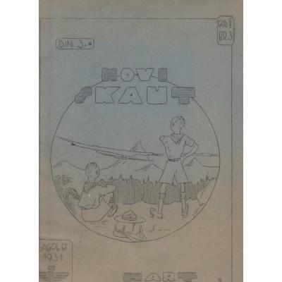 0214.  Novi skaut, year II. number 3, 1931. Zagreb