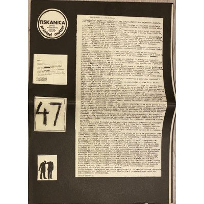 0155.  Tiskanica/ printed matter br. 47- novine, 1973.