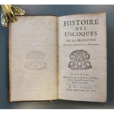 0001. Minucio Minuci: Histoire des Uscoques