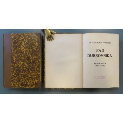 0070.  Lujo Vojnović: Pad Dubrovnika I-II.