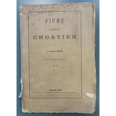 0041. Franjo Rački: Fiume gegenüber von Croatien