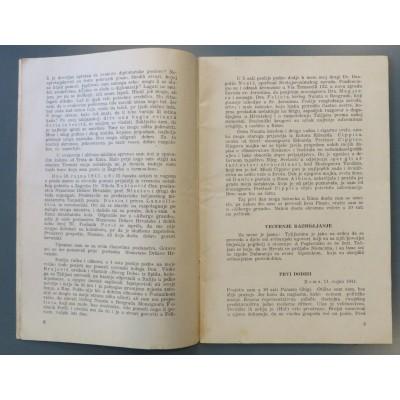 0103. Šegvić, Kerubin: U prvim mjesecima stvaranja N. D. H.: moje poslanje u Italiju 7. IX. - 24. IX. 1941. : dnevnik