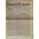 0084. Zagrebačka Orjuna- glasilo oblasnog odbora Zagreb, godište I., 1923.