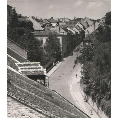 0253. Tošo Dabac: Fotografija Mesničke ulice u Zagrebu