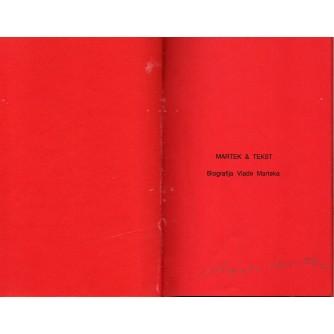 0124. Vlado Martek:  Martek & Tekst