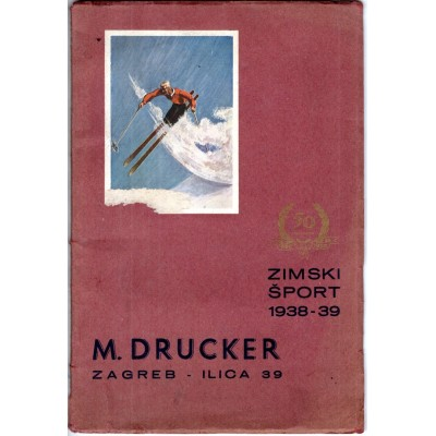 0029. M. Drucker – zimski šport 1938 - 39