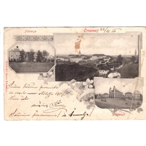 0063. Razglednica – Črnomelj / Pobrežje / Dragatuš