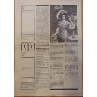 0026. GEFF Obavijest 1 (novine) Geff 69 Zagreb