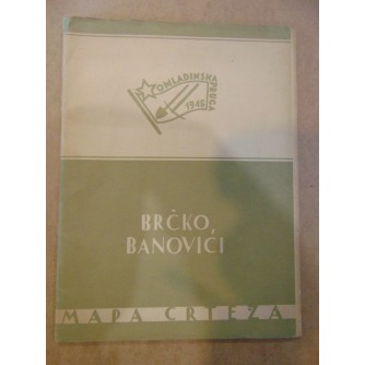 0079. Brčko – Banovići – mapa crteža studenata beogradske i zagrebačke Akademije likovnih umjetnosti